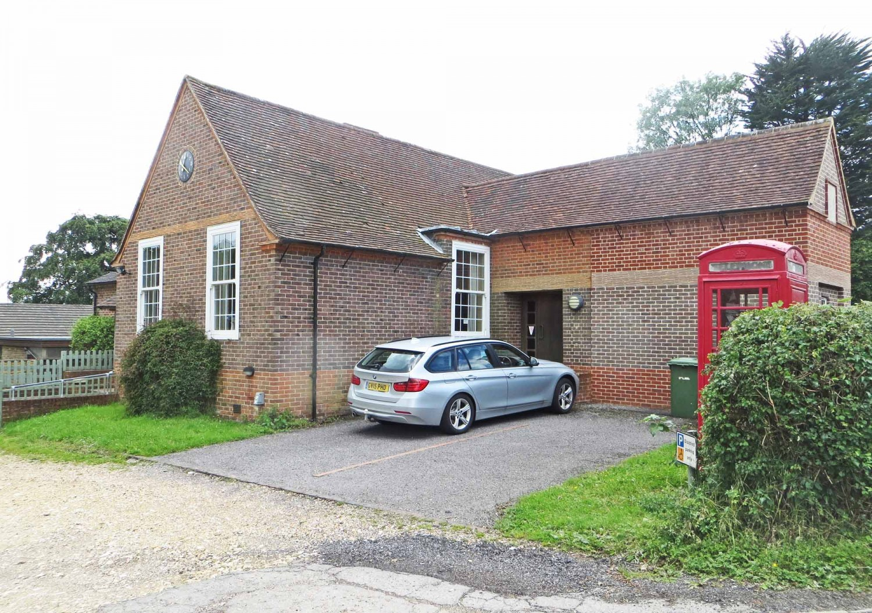 The Village Hall, where we meet on Sundays